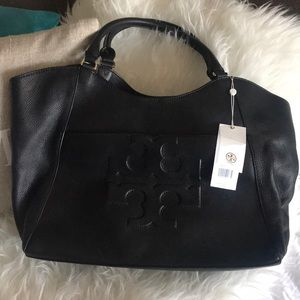 Brand New Tory Burch Bombe-t East West Tote
